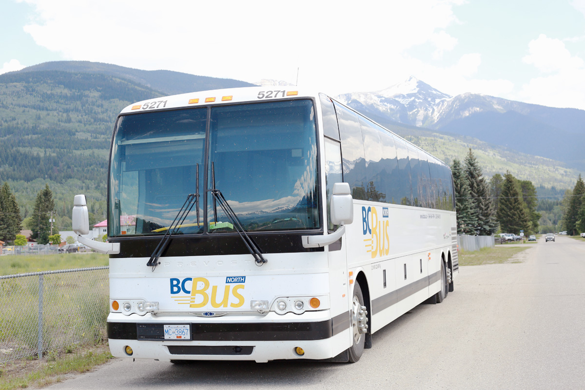 BC Bus North changes Valemount stop location