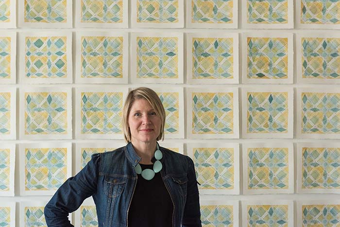 Artist Frances Gobbi speaks on connection through art
