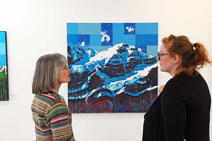 Art exhibit celebrates the late Trevor Jones