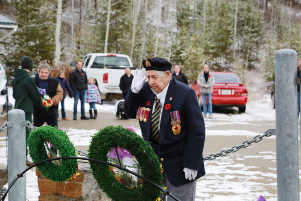 Remembrance Day 2018 in photos: Valemount & McBride
