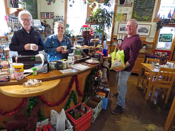 Business owners rally for food bank… and dig out some collectibles
