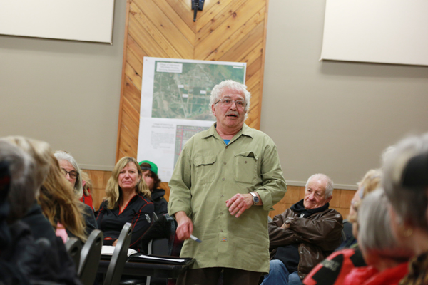 Housing meeting attracts a crowd
