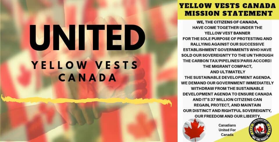 Yellow Vests take to the streets in Valemount