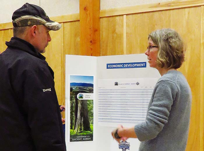 Open house reveals survey results, upcoming plans