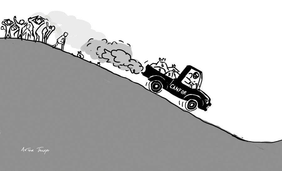 Editorial: Lesson for Vavenby: don't let them dismantle