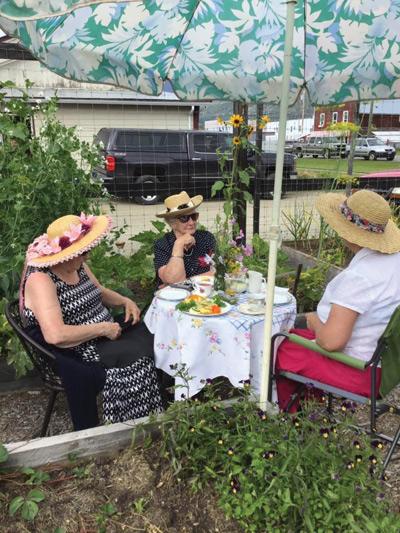 The Open Gate Garden's High Tea