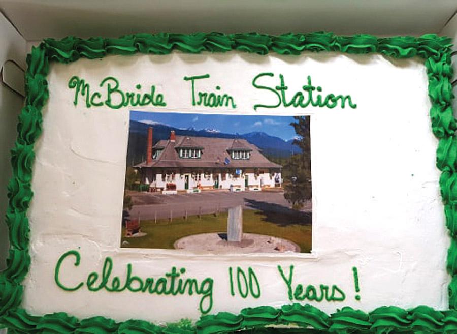 McBride train station celebrates 100