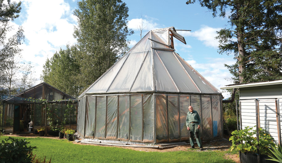 An affordable geodome