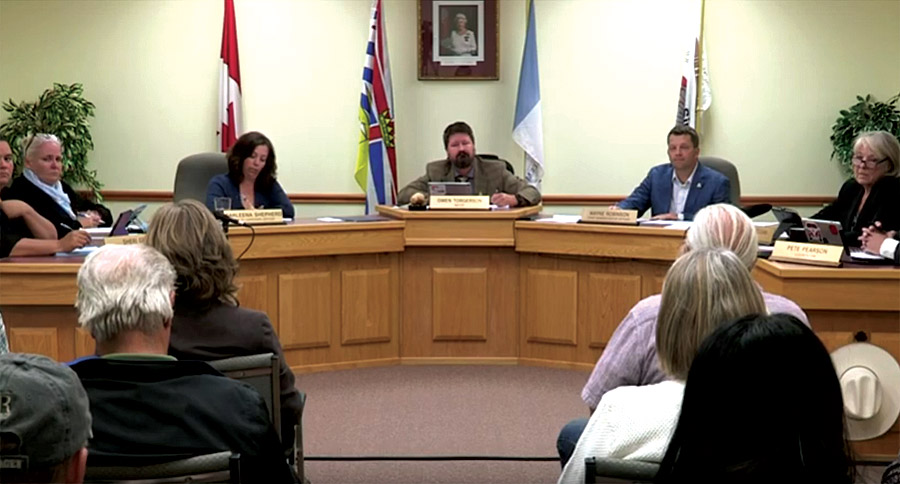 Valemount Council: Housing pitch, fuel station upgrades