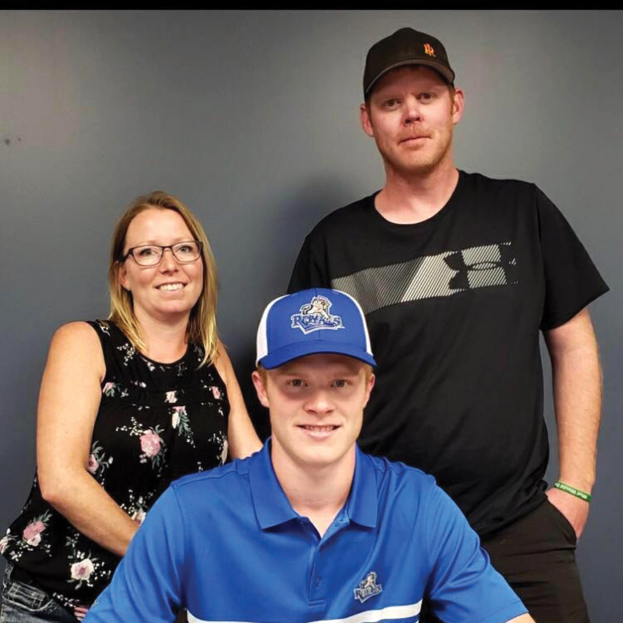 Local player gets signed