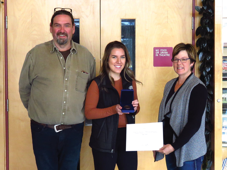High honours for student