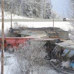 Moose Lake Derailment Dec. 26, 2019