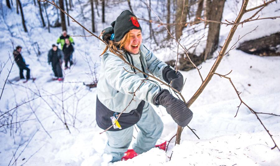 Valemount's Jr. Rangers go dog-sledding