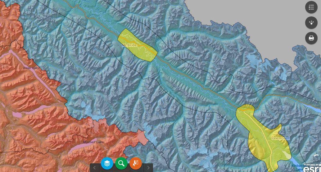 Province bans open burning in Valemount, McBride, Blue River airsheds until at least April 15th