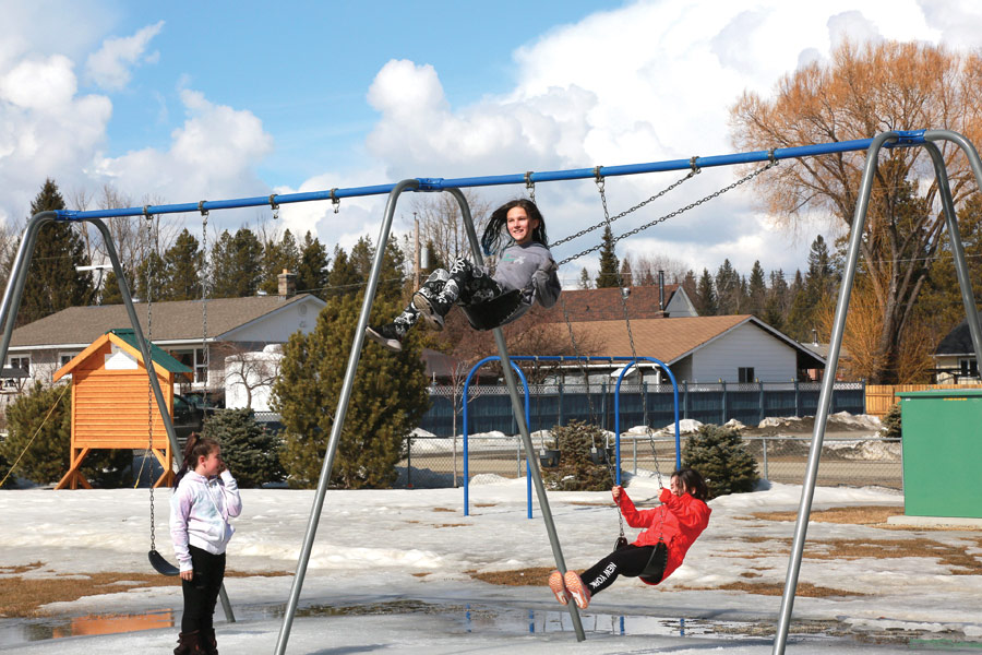Valemount playgrounds to open Monday; McBride's already open