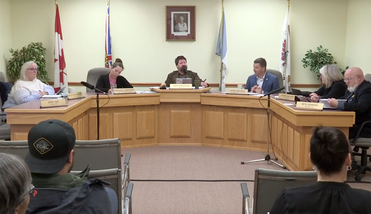 Valemount Council: Community Forest Changes, Fees waived, Brewery expansion