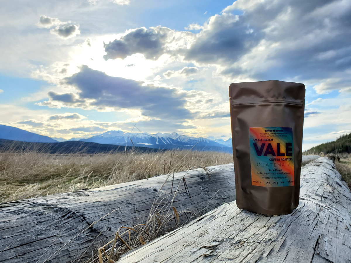 VALE coffee gets ready to fuel your ride with coffee truck