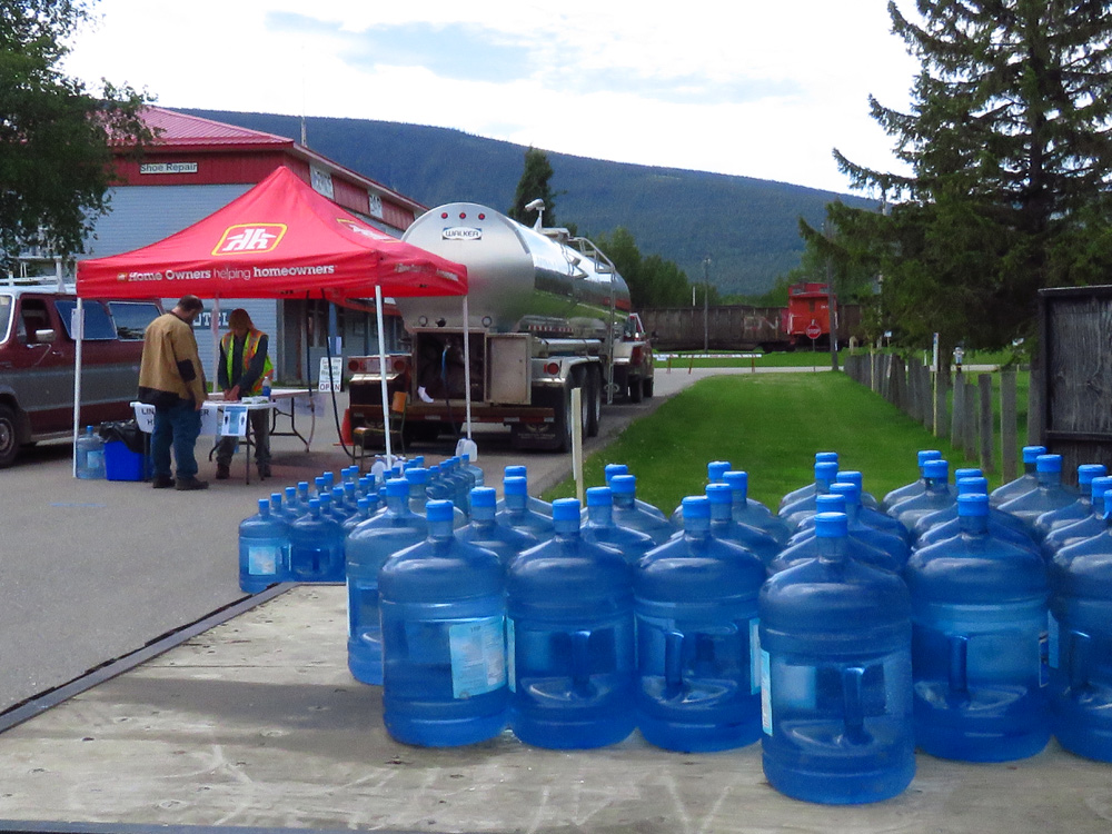 McBride issues DO NOT CONSUME ORDER for drinking water: orders restaurants to close