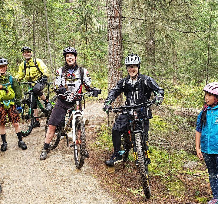 Mountain bike legend returns