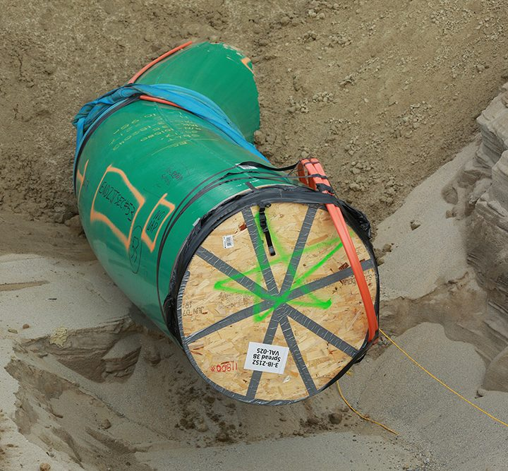 Pipeline construction restart delayed