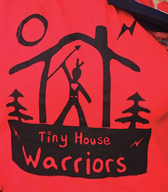 Housing for who? Tiny House Warriors under scrutiny from Secwepemc
