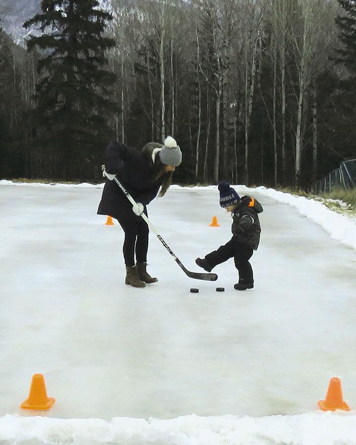 Neighbourhood rink given the go ahead