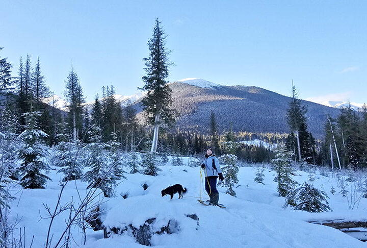 Local skiers flock to McBride's Belle Mountain trails