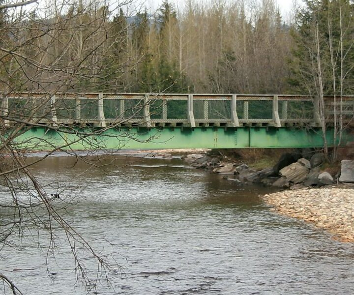 New bridge over Swift Creek in draft parks plan