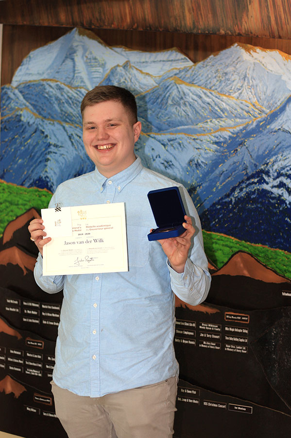 Valemount student receives Governor General Award
