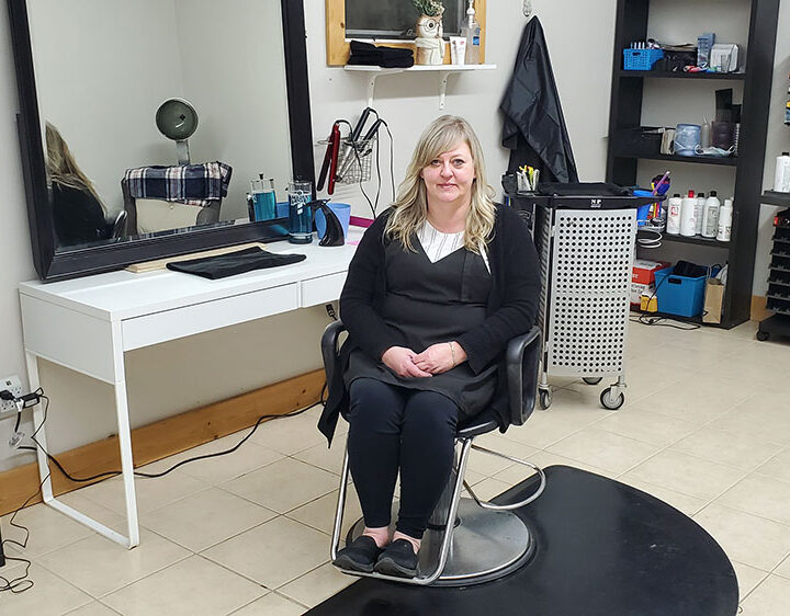 Karla's Hair Shop: a new face in a familiar location