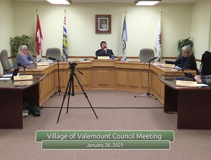 Valemount council: Eastbound bus, vaccine priority, menstrual products, strategic priorities, cannabis store