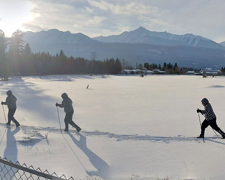 Midtown ski in Valemount's heart