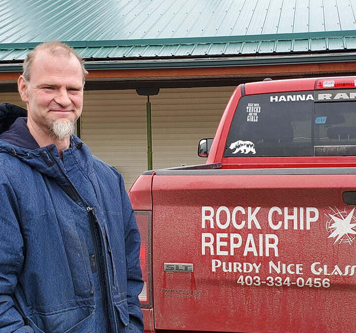 Windshield chip repair available in McBride