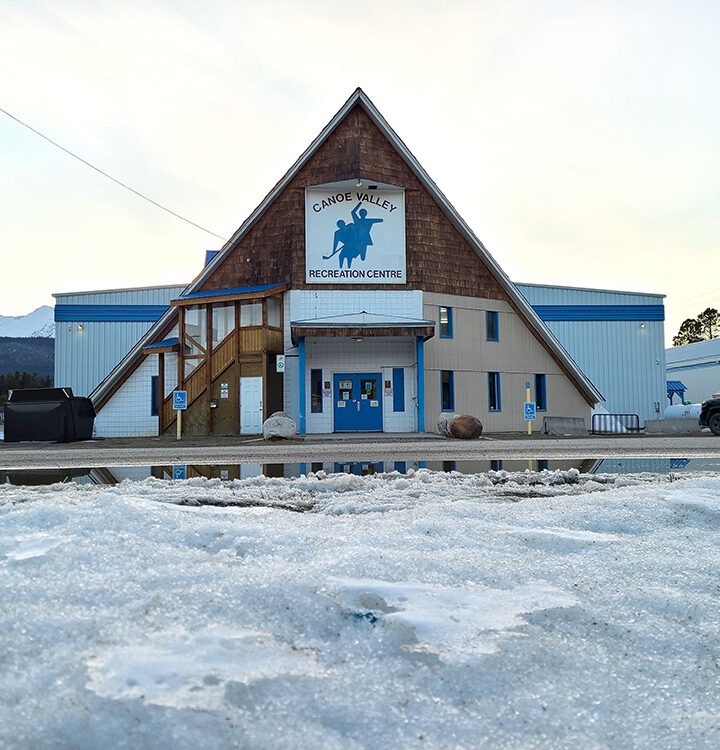 Local arenas and Robson Valley community hall get upgrades