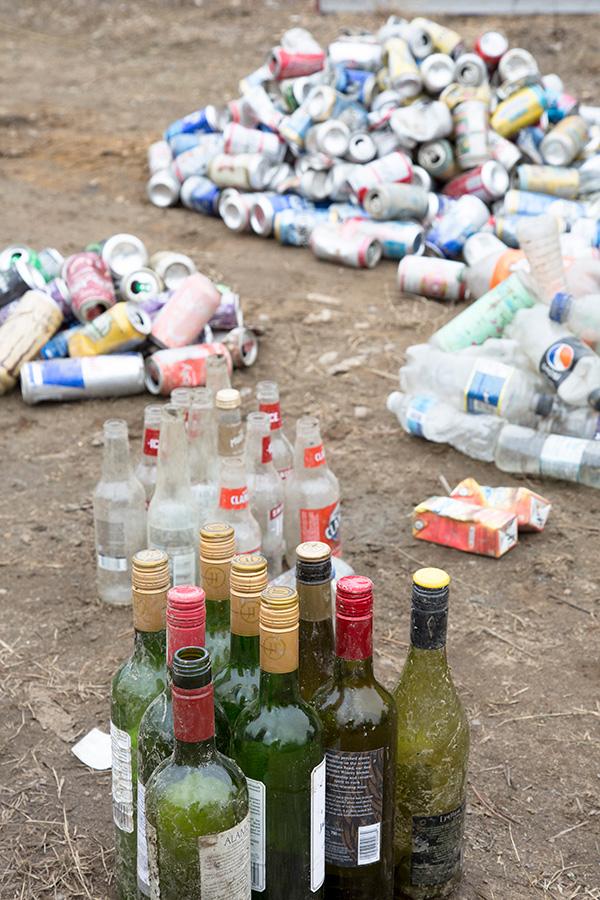 Liquor litter a problem