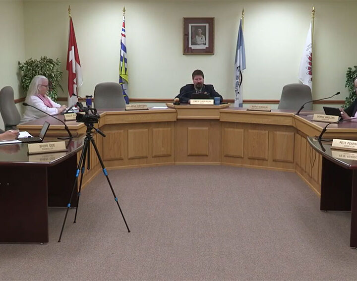 Valmount council: Wood burning bylaw, sole source washroom, 5-Year financial plan