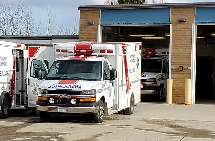 Night-shift commute: McBride paramedics cross-covering Prince George draining on staff, sources say