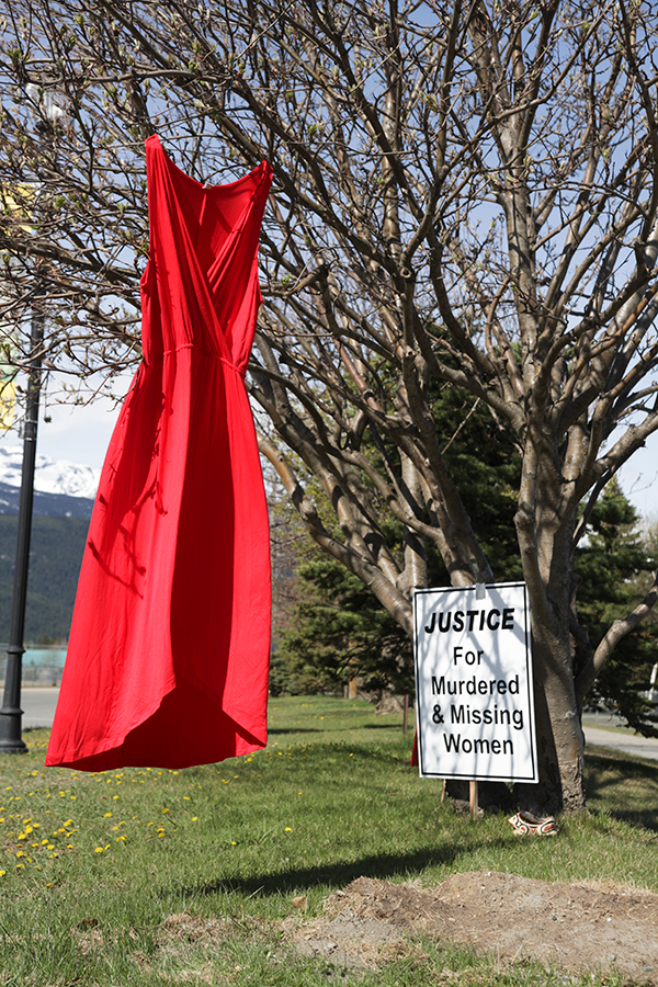 Walk/run marks Red Dress Day in Valemount