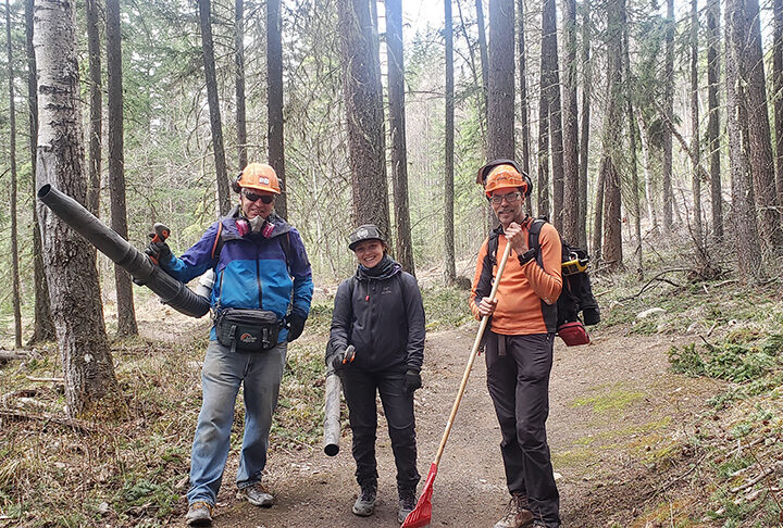 Valemount Bike Park gets trail maintenance team