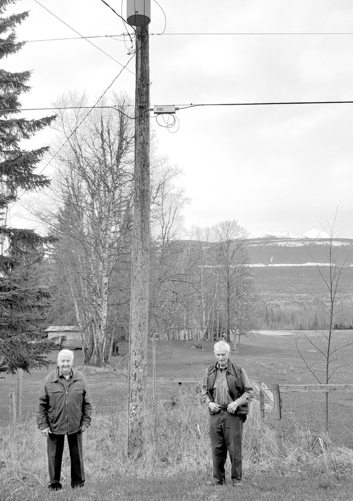 Powered Up: 61-year-old Hydro poles reminder of power's beginnings on Mountainview