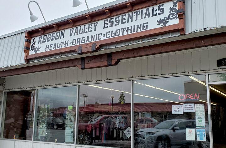 Robson Valley Essentials closing its doors