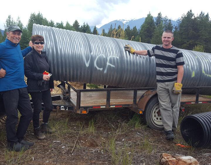 Work underway on new Mount Terry Fox Trail