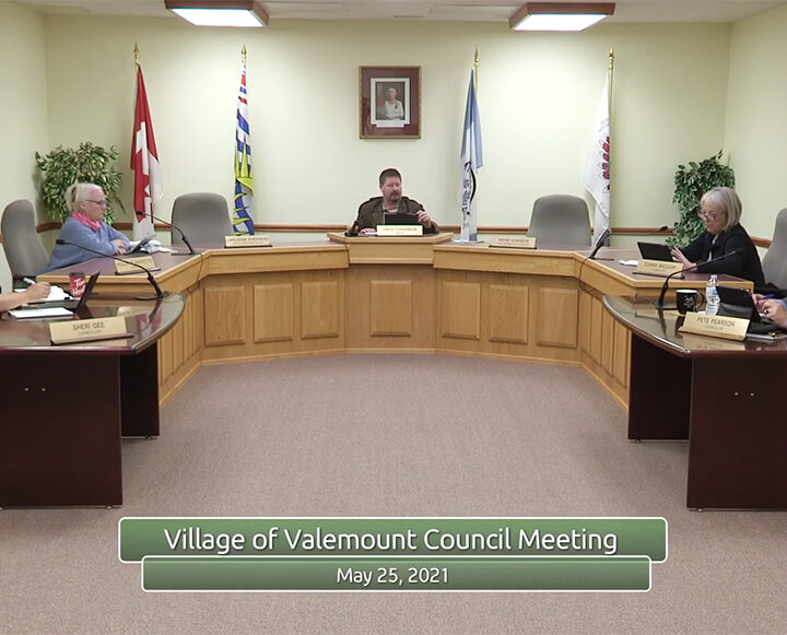 Valemount Council Notes: Delegation, crossing arms, brewery expansion