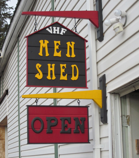 """WANTED: Men to start local """"Men's Shed"""""""