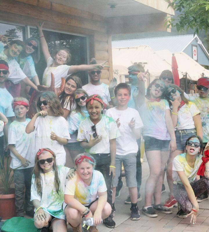"End-of-school ""Colour Walk"""