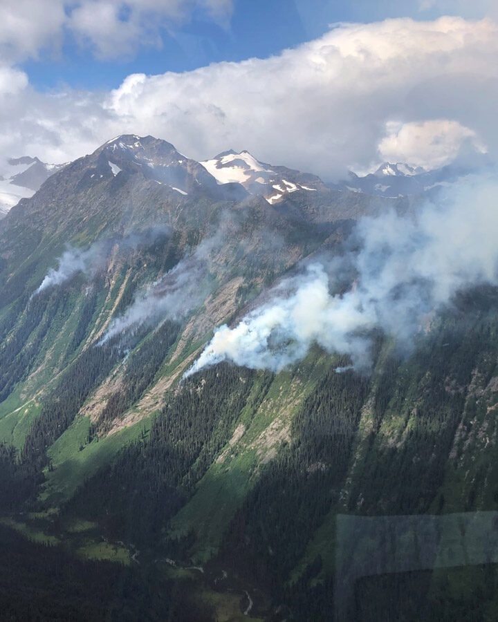 Kimmel Creek Fire grows due to winds; CMH lodge takes proactive measures
