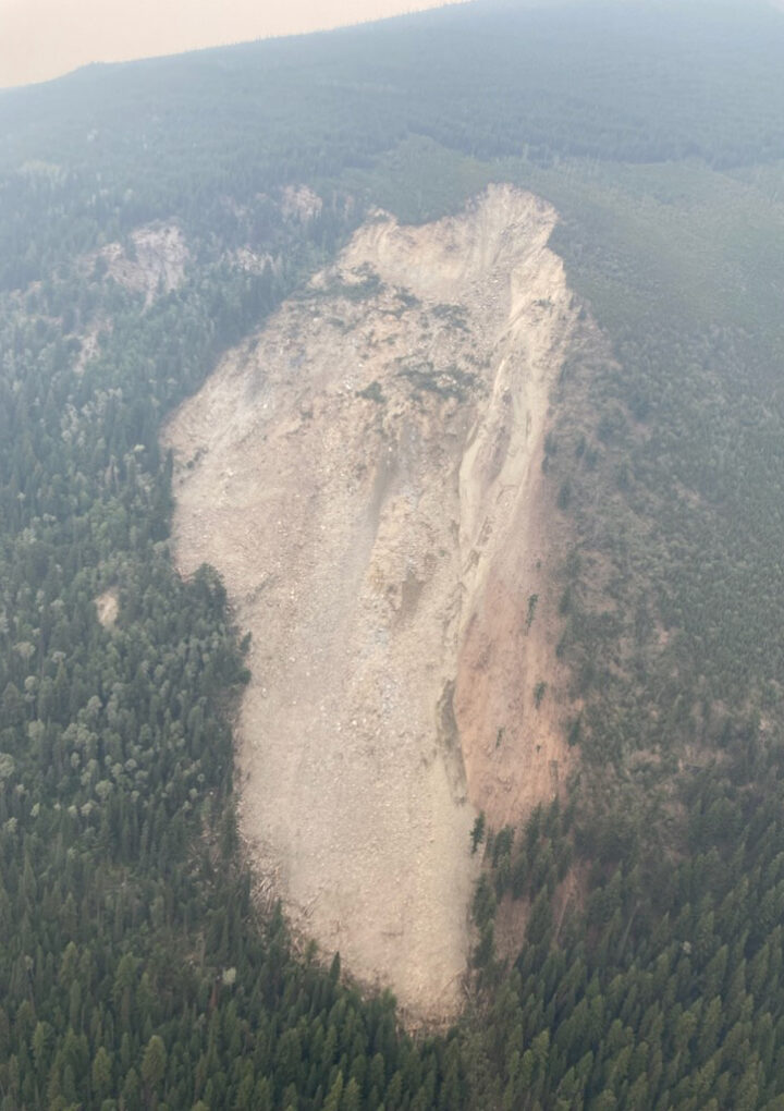 Village awaits Swift Creek landslide report