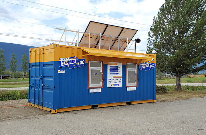 """""""Return-It Express & Go"""" recycling station opens in McBride"""