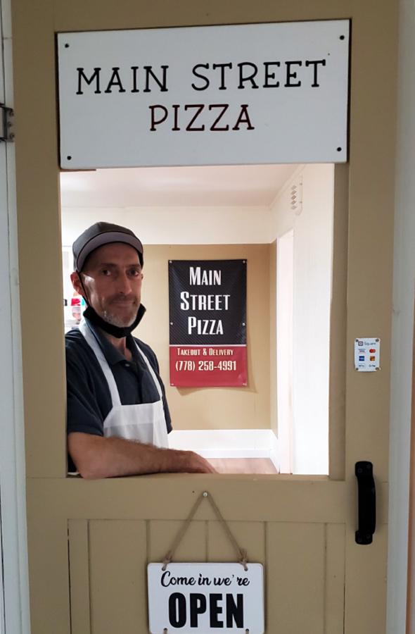 McBride's new pizza shop opens its doors