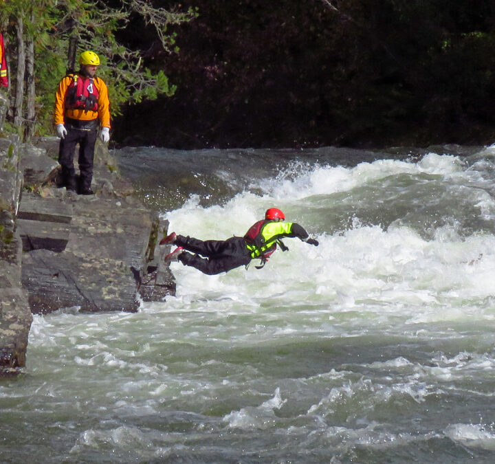 Behind the scenes in local swift water rescue